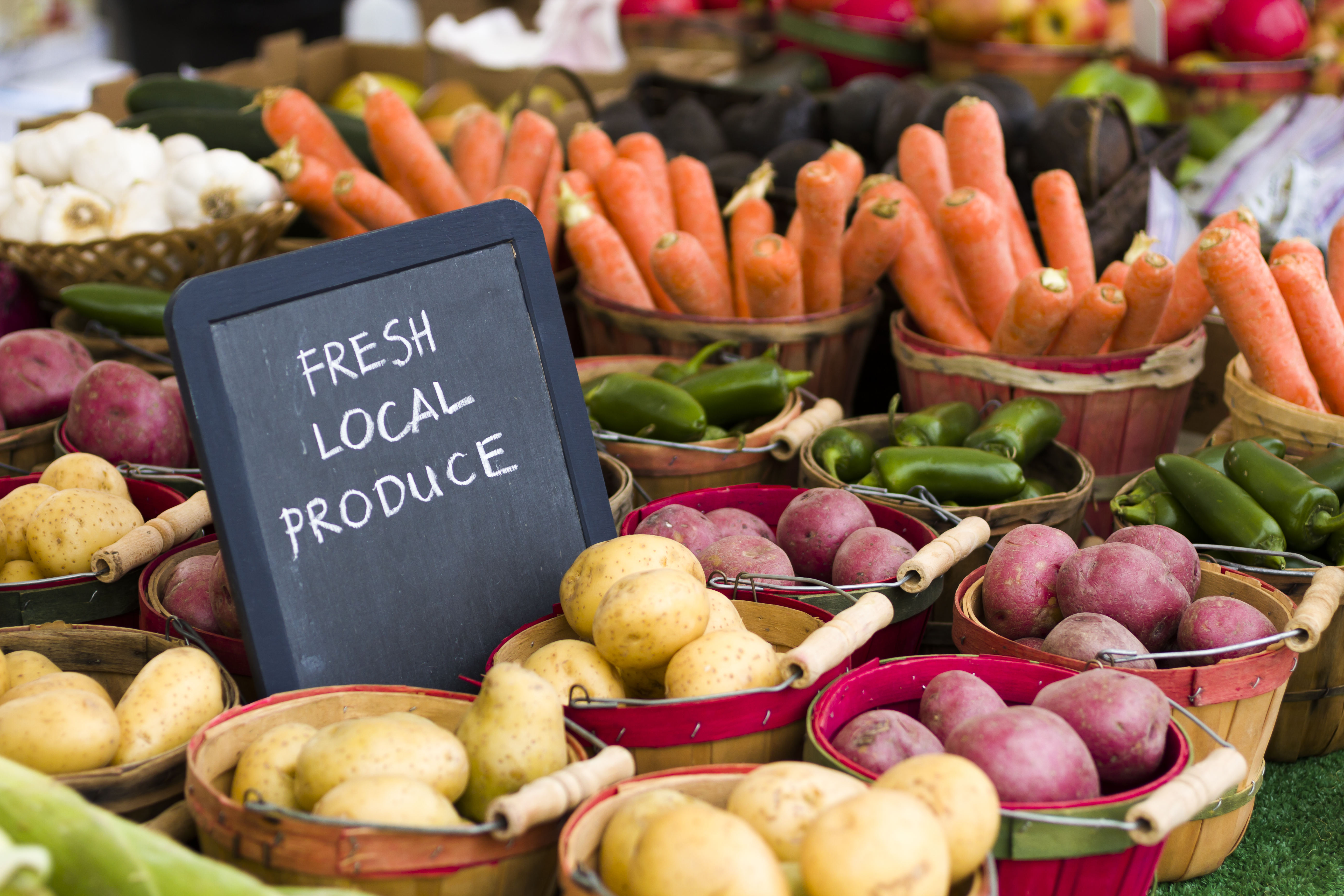 Shop for Local Goods at the Year-Round Urban Harvest Farmers Market